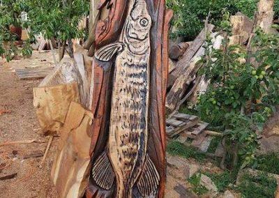 Drevorezba v dubovom dreve – 150 € + dohoda
