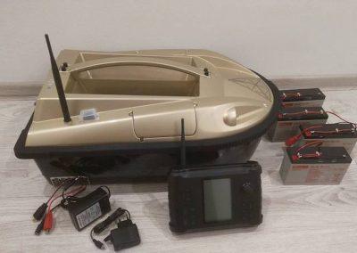 Zavážacia Loďka Prisma 5 s GPS a sonarom – 1060 €